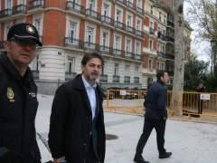 Oriol Pujol a las puertas de la Audiencia Nacional