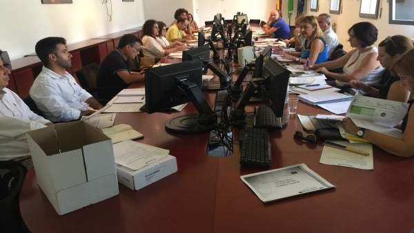 Reunión de socios del proyecto para mejorar itinerarios del Bajo Guadiana