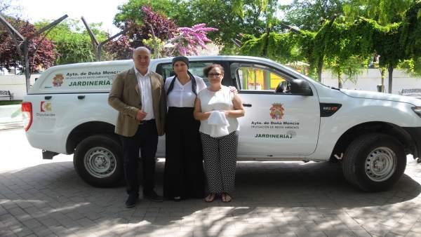 Doña Mencía (Córdoba) contará con un nuevo vehículo para jardinería