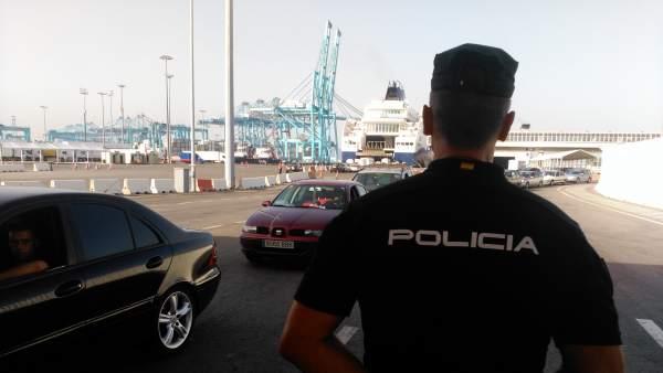 Comienza la operación Minerva 2017 en los puertos de Algeciras, Tarifa y Ceuta