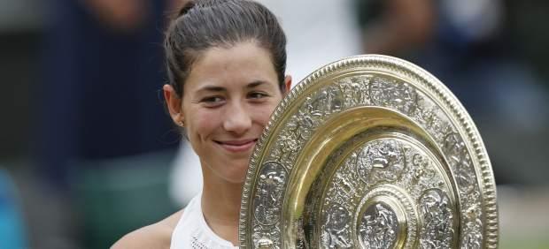 Garbiñe Muguruza asciende al número 4 del ranking WTA