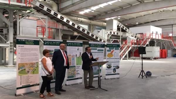 Centro de tratamiento de residuos de Pedret i Marzà (Girona)