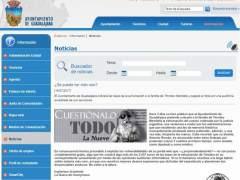 Página inicial del Ayuntamiento, hackeada por Anonymous