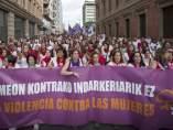 Contra los abusos sexuales en Sanfermines