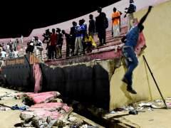 Avalancha mortal en un estadio de Dakar