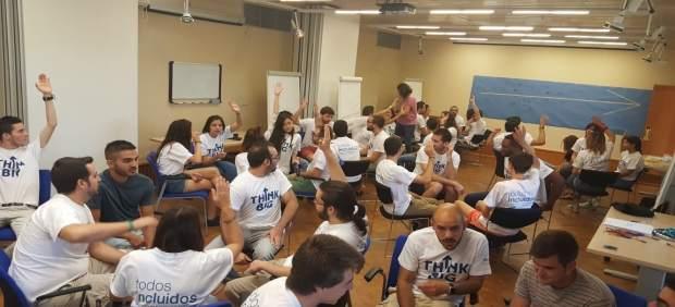 Participantes en el proyecto 'Think Big' de Fundación Telefónica