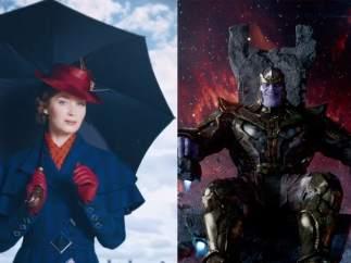 Mary Poppins, los Vengadores y Star Wars