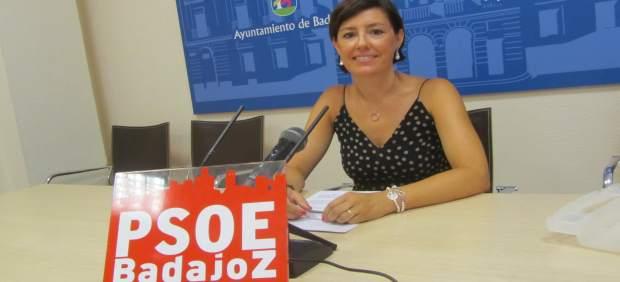 La concejala socialista Maribel García