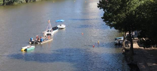 Embarcaciones en el Río Pisuerga