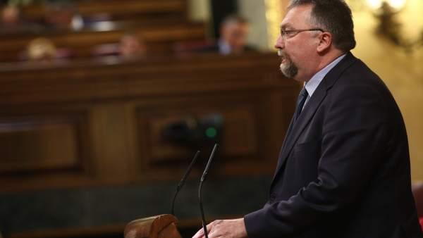 Isidro Martínez Oblanca en el Congreso