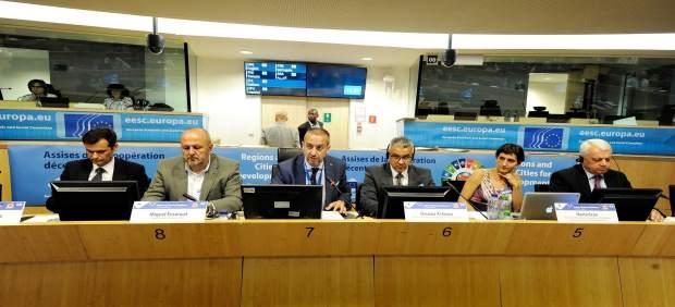 Murcia expone en Bruselas su apuesta por el agua y la agricultura