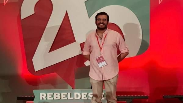 Agustín Cañete, nuevo secretario de Organización de JSE
