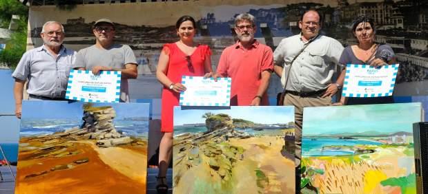 Entrega de premios del concurso de pintura rápida