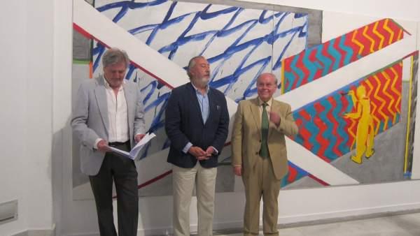 Méndez de Vigo en la inauguración de la exposición