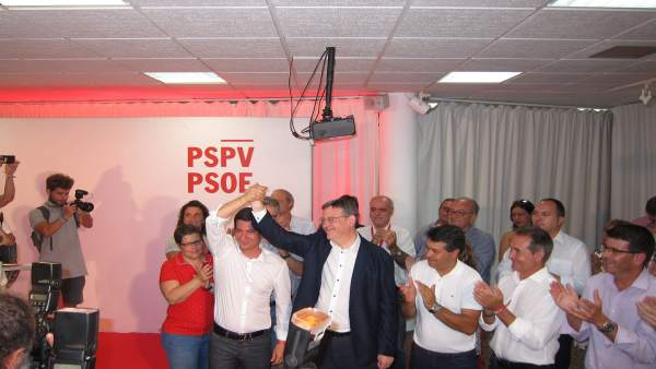 Ximo Puig gana las primarias del PSPV