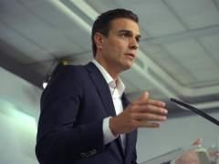"""Pedro Sánchez le pide a Rajoy que """"presente su dimisión"""""""