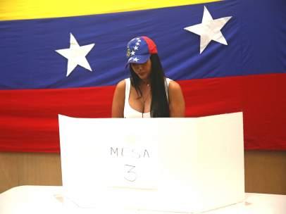Votación popular de la oposición venezolana