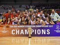 La selección femenina de baloncesto sub-20
