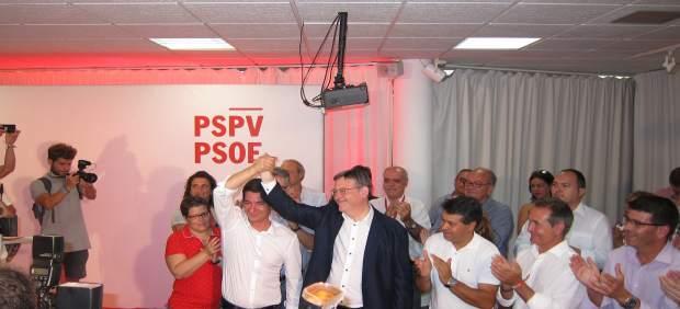 Ximo Puig, reelegit secretari general del PSPV amb el 56,8% dels vots