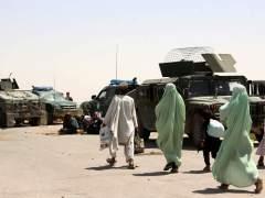 Al menos 43 muertos en un ataque talibán contra una base militar en el sur de Afganistán