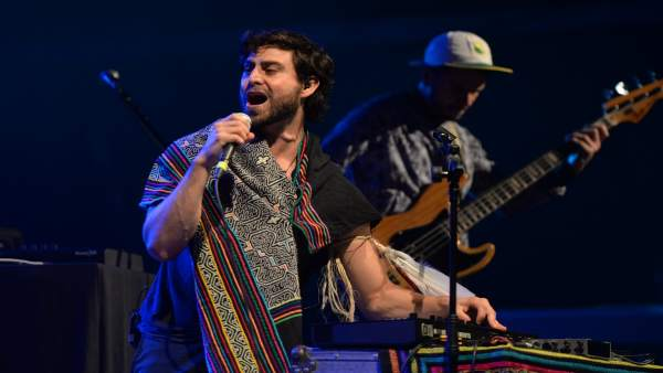 El músico ecuatoriano Mateo Kingman