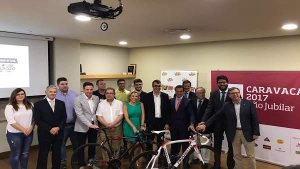 Presentación Vuelta Ciclista España