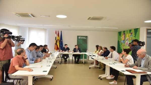 Escobar preside la reunión de la Comisión