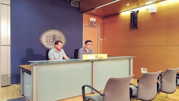 Més per Mallorca en rueda de prensa
