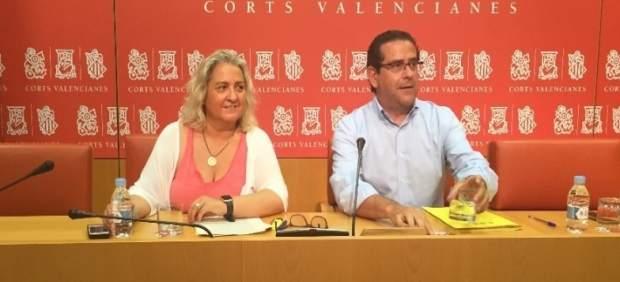 María José Ferrer y Jorge Bellver en rueda de prensa
