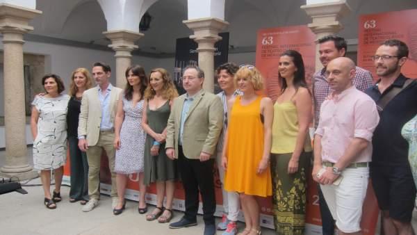 Presentación de la obra 'Troyanas' del Festival de Teatro Clásico de Mérida