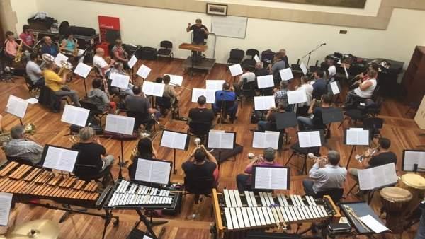 Ensayos de la Banda de Música de Bilbao