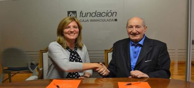 González y Zarazaga han firmado hoy el acuerdo de colaboración