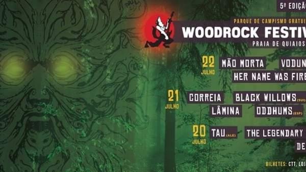 Cartel del Woodrock Festival