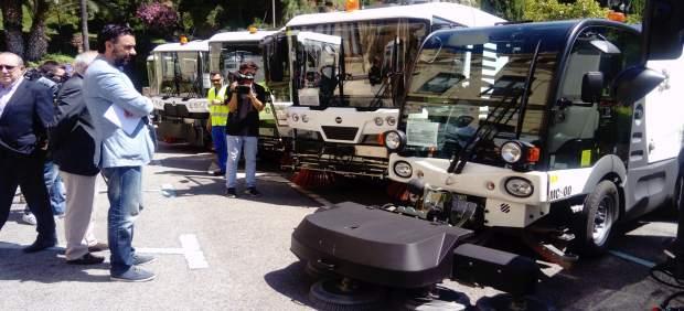 Refuerzo limasa verano málaga raúl jiménez vehículos ayuntamiento