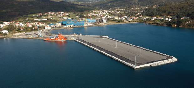 Fábrica de Ferroatlántica en Cee