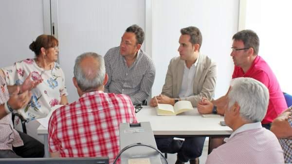 Reunión PSOE con Asociación Provincial de Autoescuelas