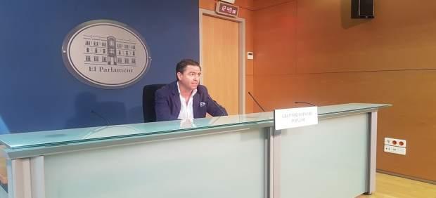 Miguel Jerez en una rueda de prensa