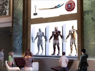 'Disney's Hotel New York– The Art of Marvel', en Disneyland París