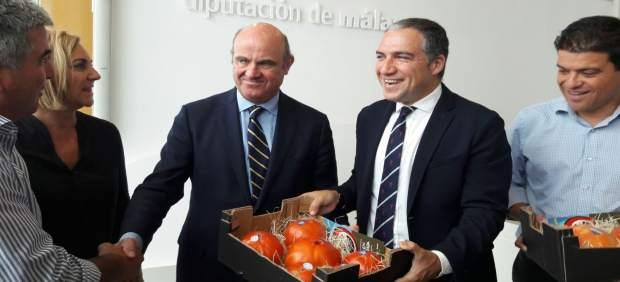 Luis de guindos bendodo diputación de málaga sabor a málaga