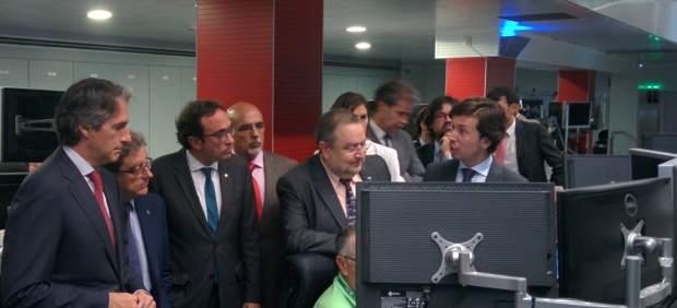 Íñigo de la Serna, Enric Millo y Josep Rull