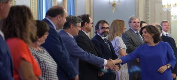 Rivera tras la reunión del Comité