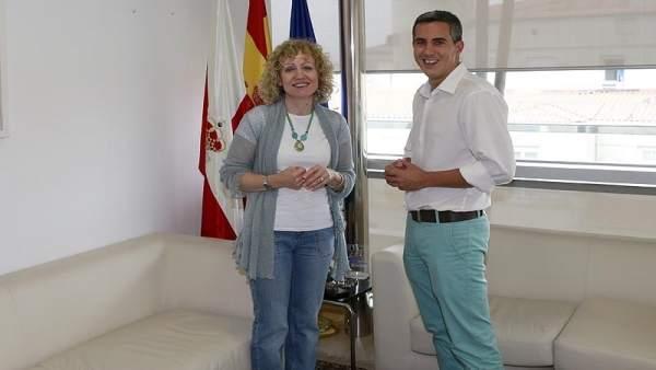 Díaz Tezanos y Zuloaga en una reunión en el Gobierno (Archivo)