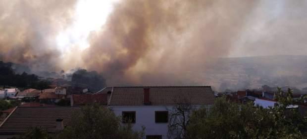Incendio en Salamanca