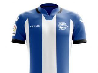 Camiseta del Deportivo Alavés para la temporada 2017/18
