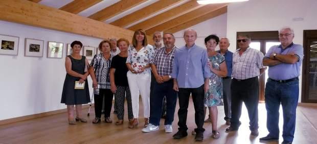 Inauguración de la exposición 'Cazador de Instantes', en Yebra de Basa (Huesca)