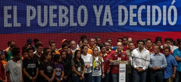Acto de la Mesa de Unidad Democrática de Venezuela