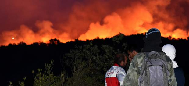 Incendio en Montenegro.