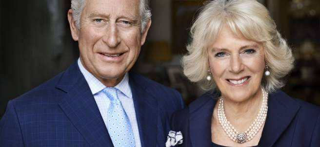 El príncipe de Gales y Camilla Parker-Bowles