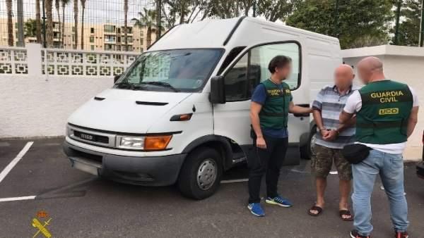 Presunto atracador detenido en Canarias
