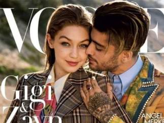 Zayn Malik y Gigi Hadid en 'Vogue'